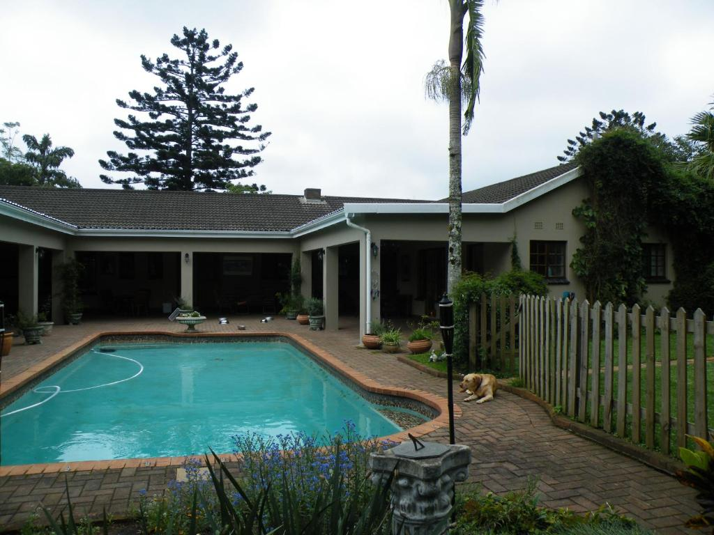 The swimming pool at or close to Brackens Guest House