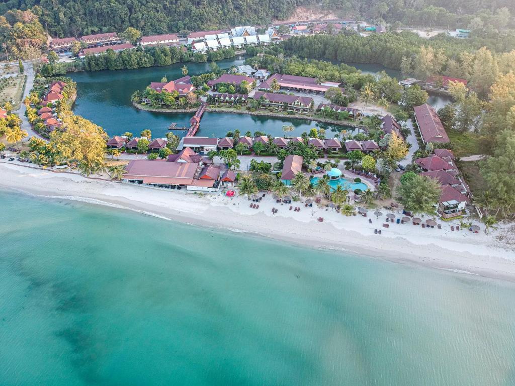 Blick auf Klong Prao Resort aus der Vogelperspektive