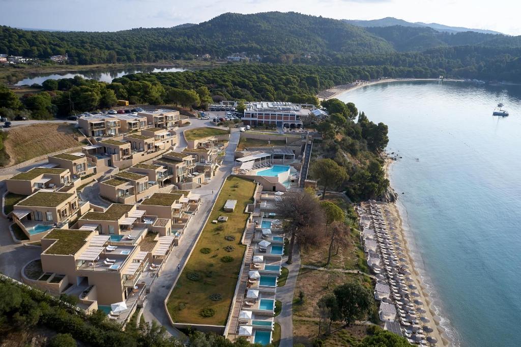 Άποψη από ψηλά του ELIVI Skiathos