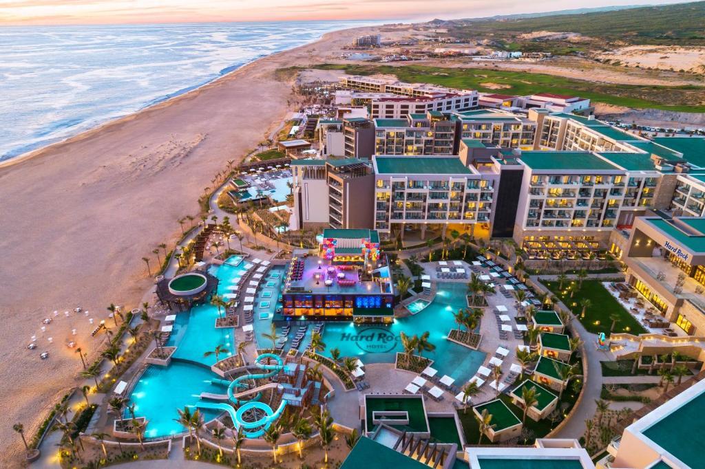 A bird's-eye view of Hard Rock Hotel Los Cabos