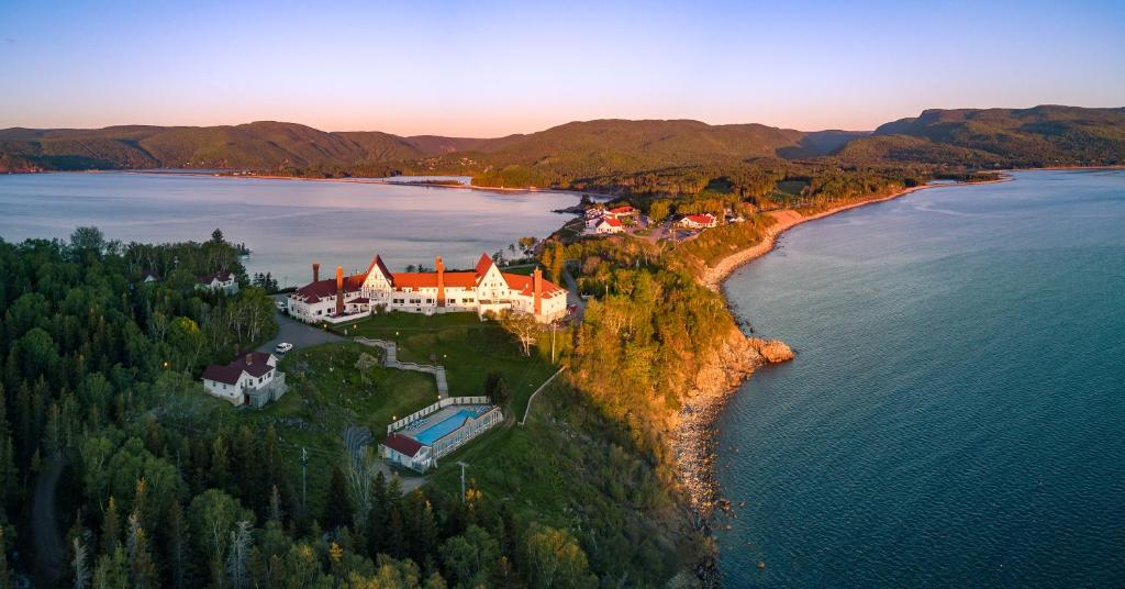 A bird's-eye view of Keltic Lodge at the Highlands