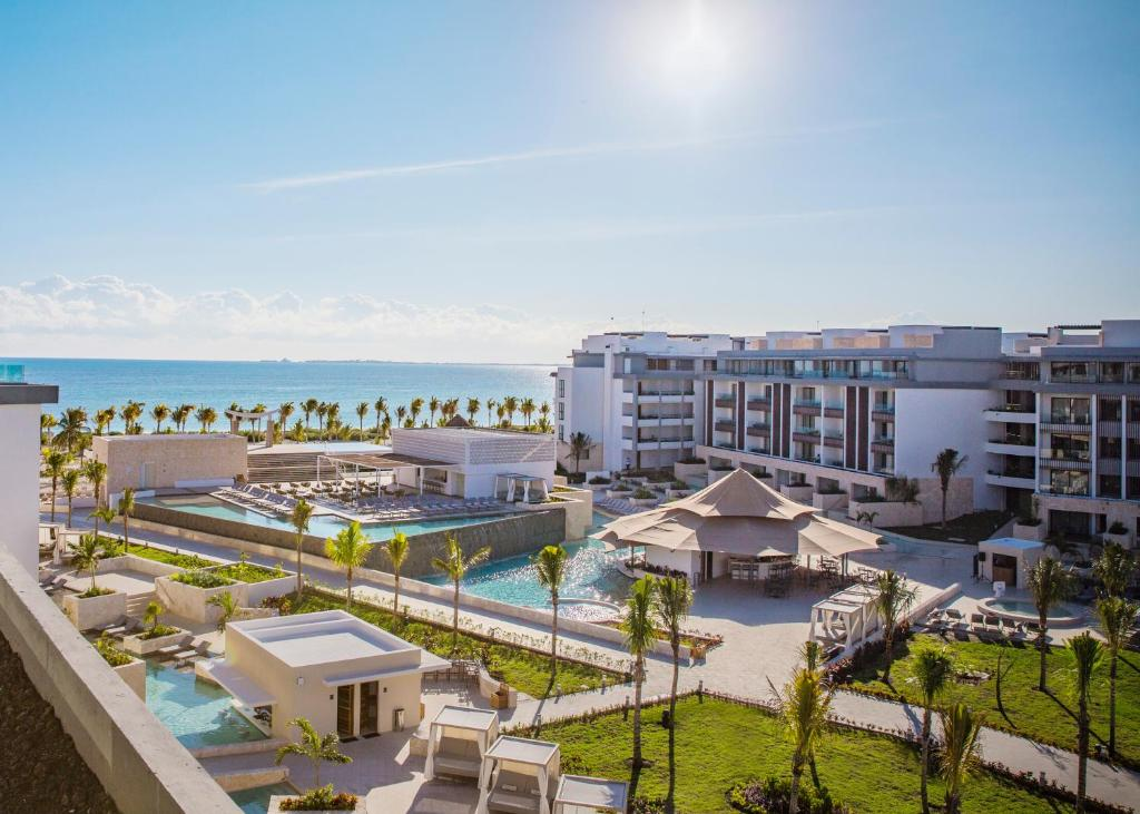 A view of the pool at Majestic Elegance Costa Mujeres - All Inclusive or nearby