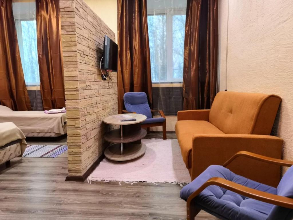 Гостиная зона в Отель Усть-Луга