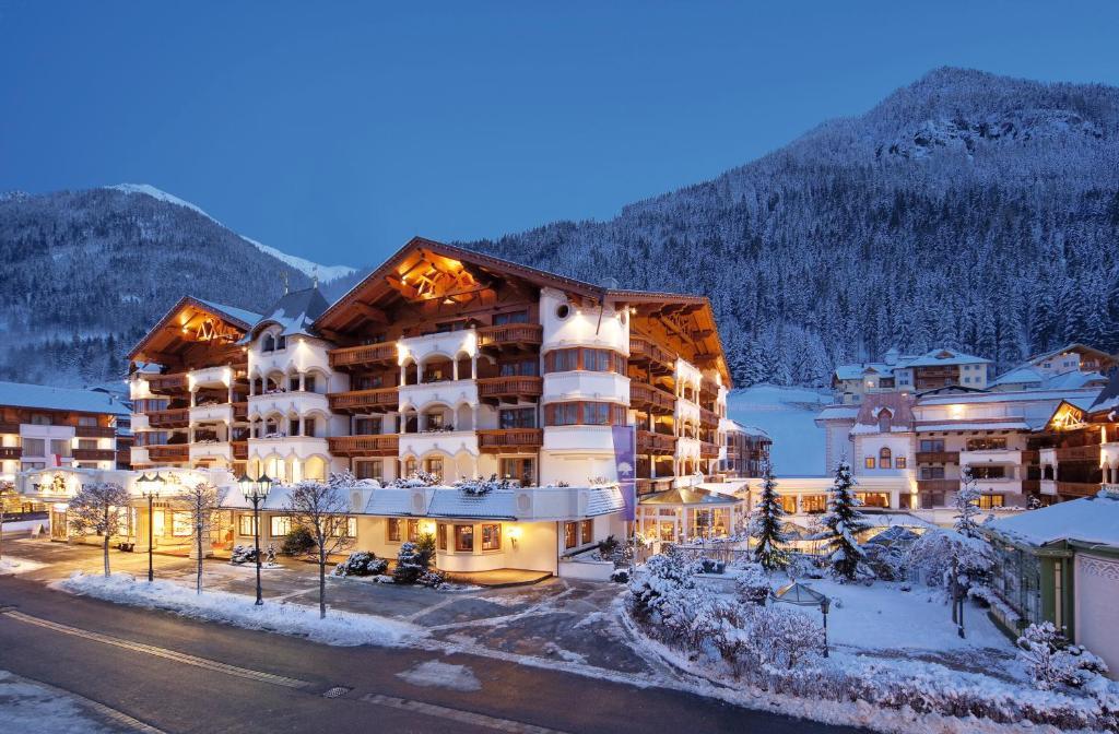 Hotel Trofana Royal during the winter