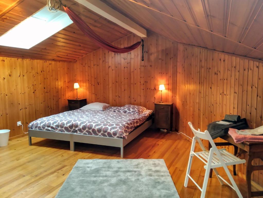 Un ou plusieurs lits dans un hébergement de l'établissement St-Honoré Holiday Home