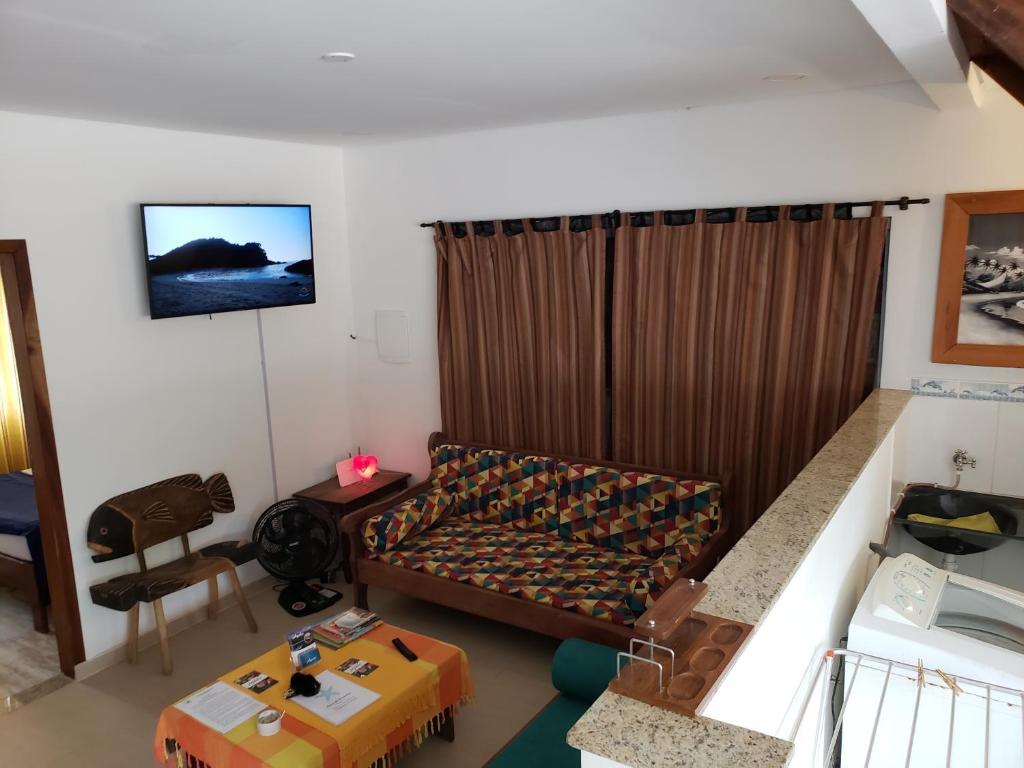 Casa da Veronica - Trindade Apartamento com 2 quartos