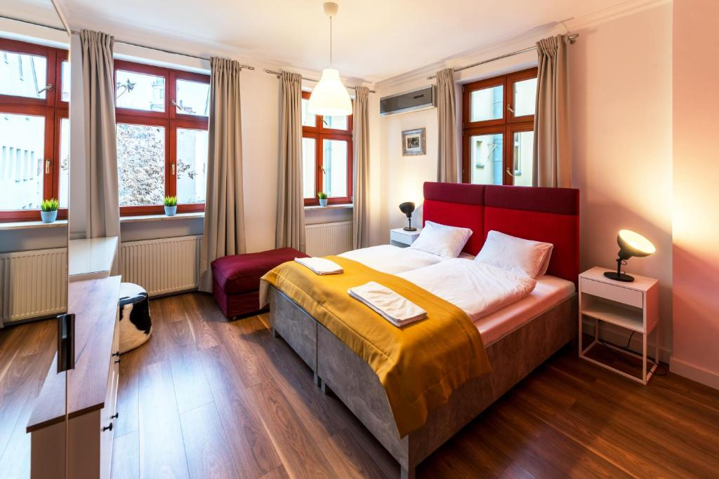 A bed or beds in a room at TCZ Mokra