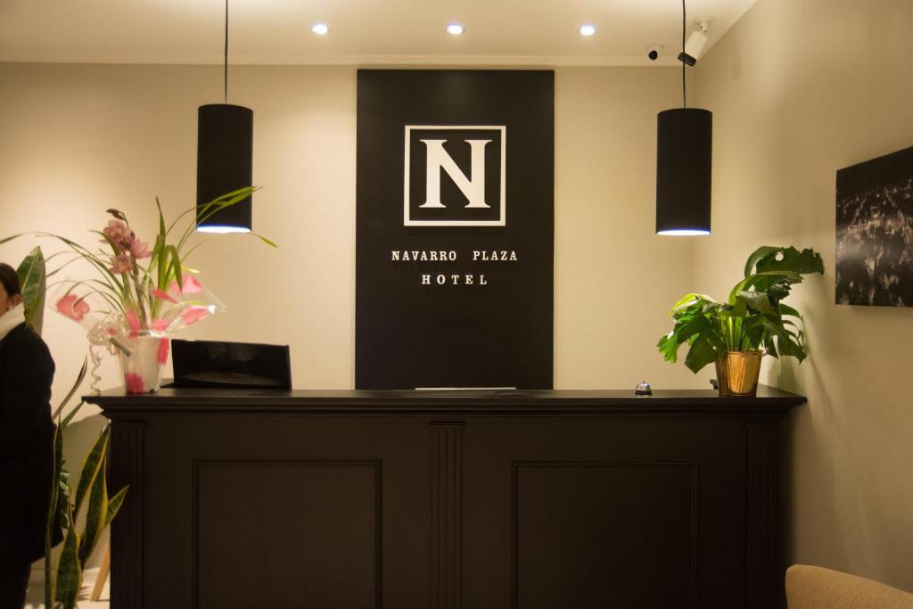 El lobby o recepción de NAVARRO PLAZA HOTEL