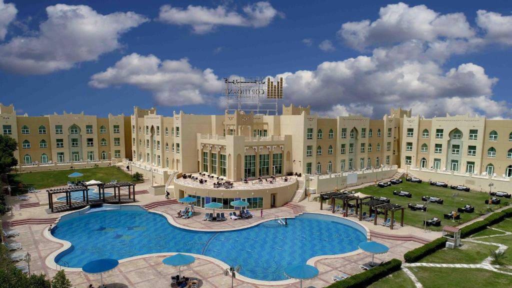 A view of the pool at Copthorne Al Jahra Hotel & Resort or nearby