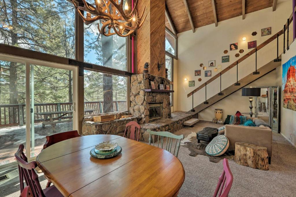 Flagstaff Cabin with Large Deck & Fenced Yard!