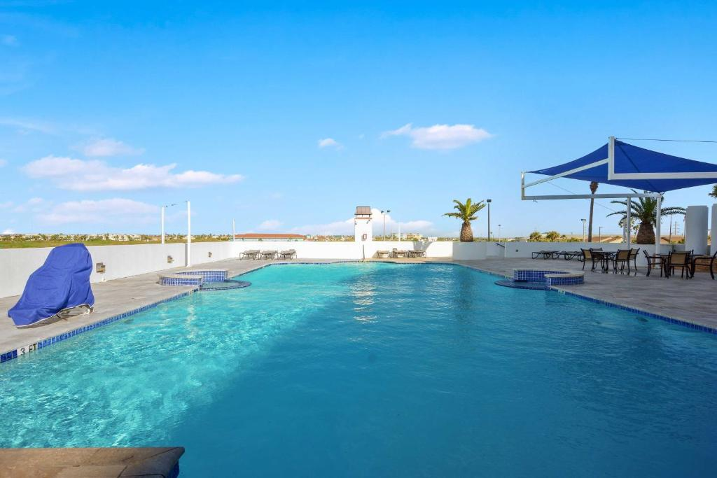 The swimming pool at or near Beachfront Port Aransas Condo with Pool Access!