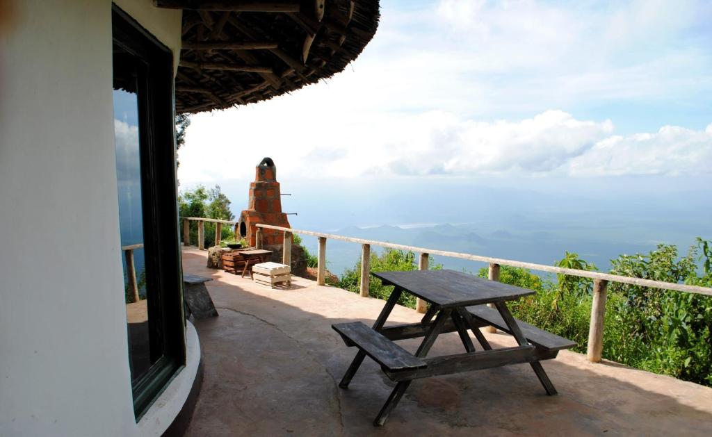 A balcony or terrace at Mambo View Point