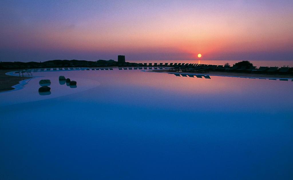 Het zwembad bij of vlak bij Hotel Relax Torreruja Thalasso & Spa