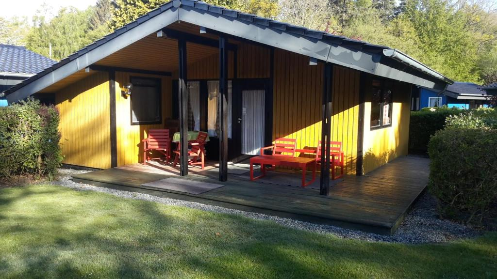 """""""Ferienanlage AmWalde"""" Ferienhaus Retro Chalet Nr 1"""