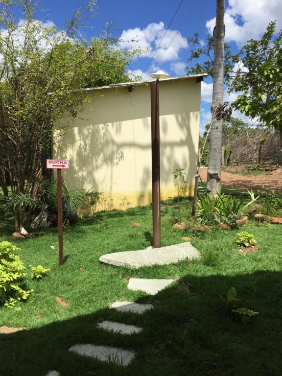 Jardín al aire libre en Recanto das Pedras São Leopoldo