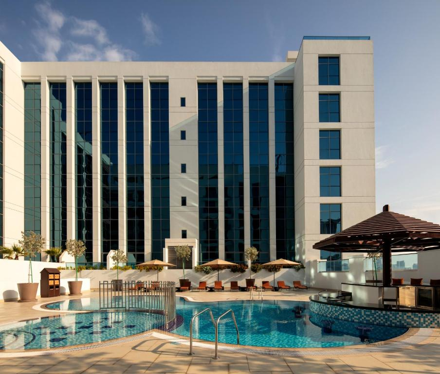 The swimming pool at or close to Hyatt Place Dubai Jumeirah