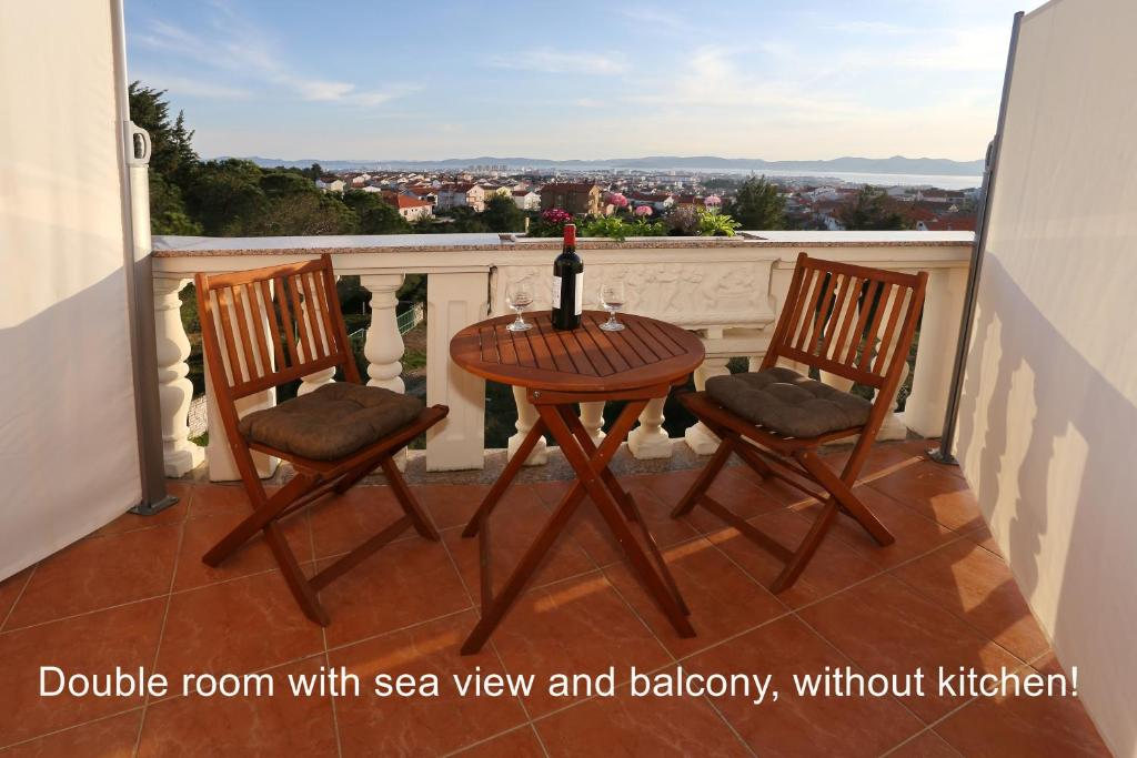 A balcony or terrace at Apartment Marica Amazing View