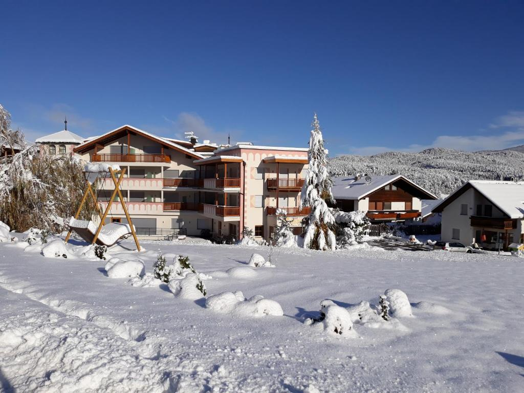 Hotel Castel Oswald von Wolkenstein durante l'inverno