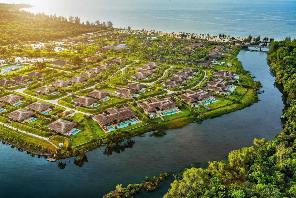 A bird's-eye view of Fusion Resort Phu Quoc - All Spa Inclusive