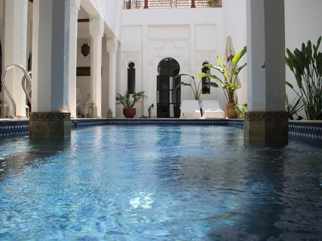The swimming pool at or near Riad Bellamane & Spa