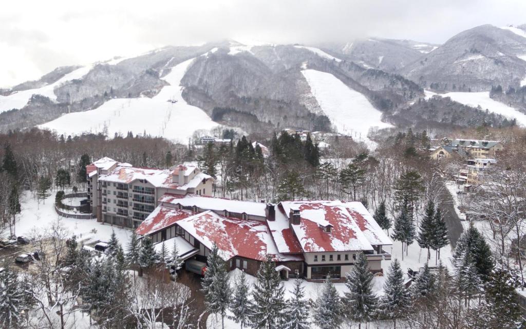 冬の白馬東急ホテルの様子