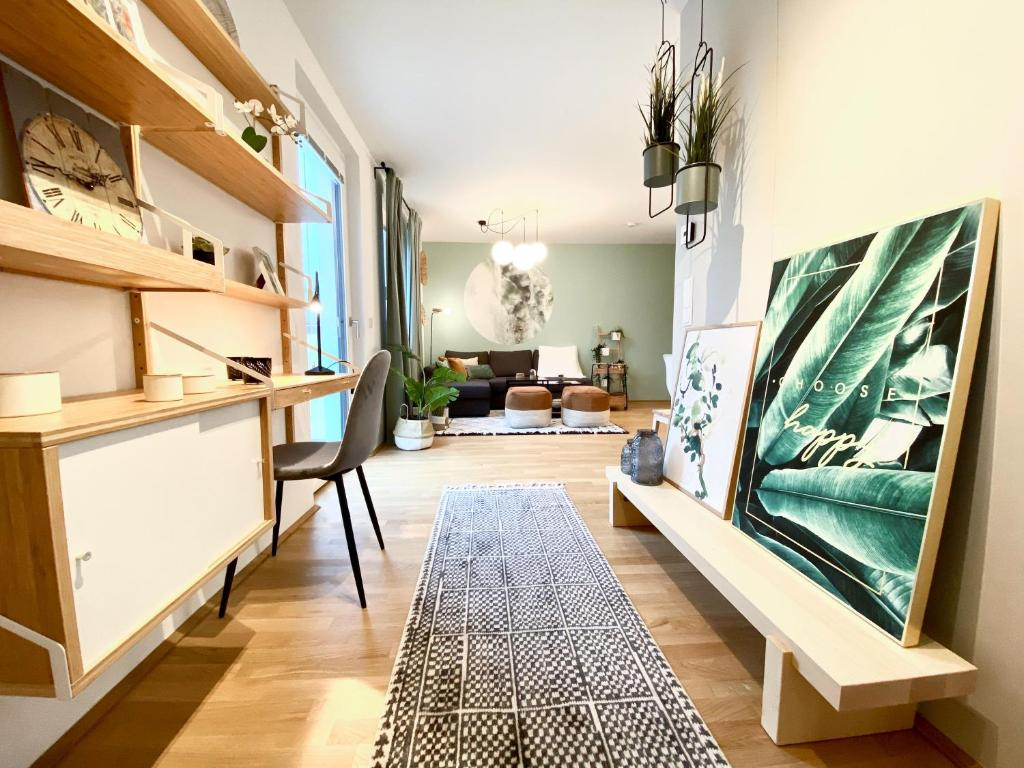Green & cozy apartment - 23 min to city center, Vienna, Austria