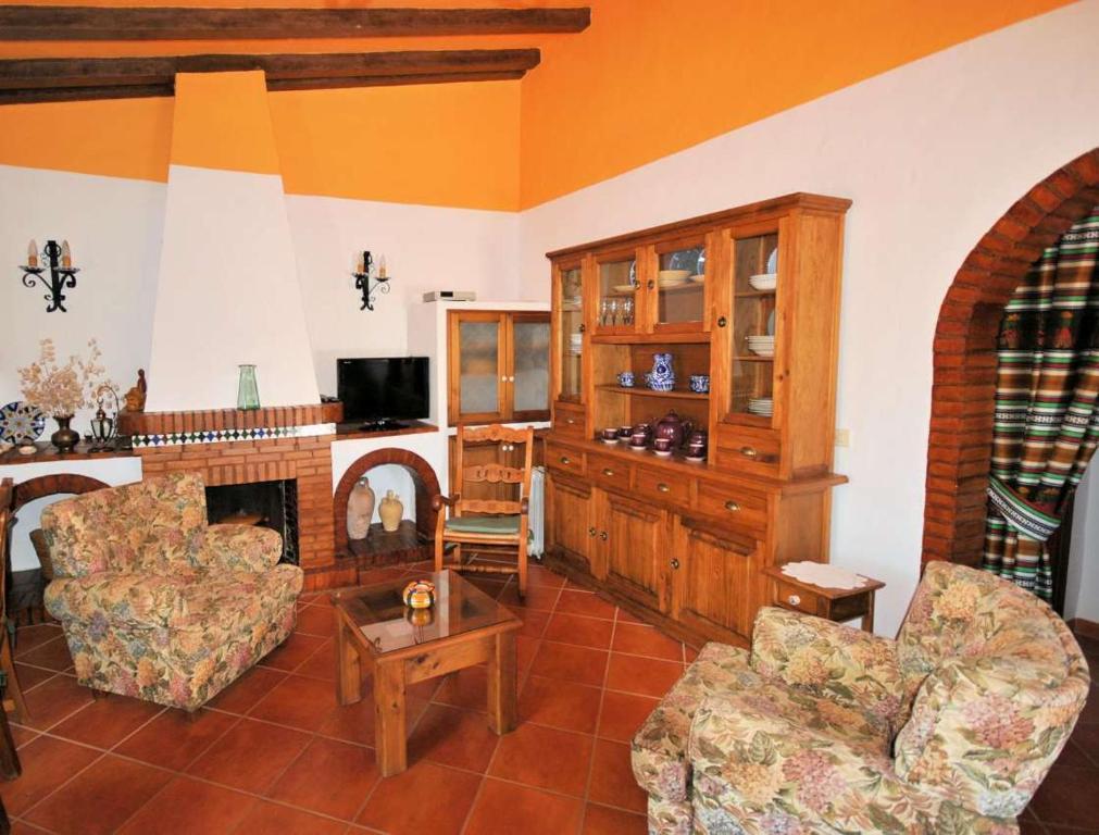 A seating area at Villa Ruiz