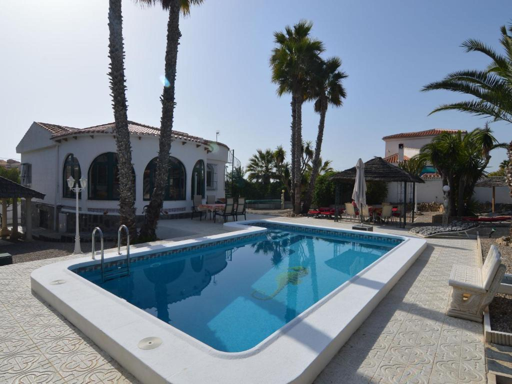 The swimming pool at or close to Luxurious Villa in La Escuera with Swimming Pool