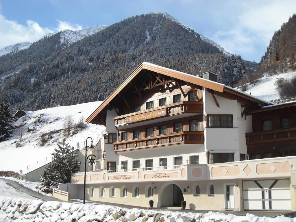 Hotel Garni Belvedere Ischgl, Austria
