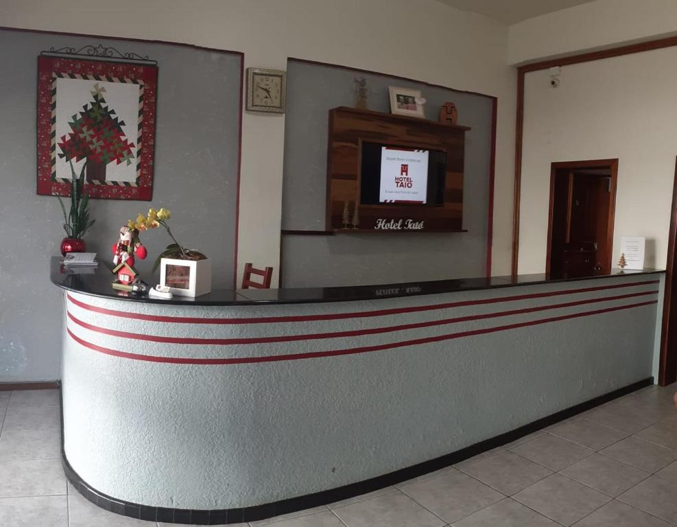 The lobby or reception area at HOTEL TAIÓ