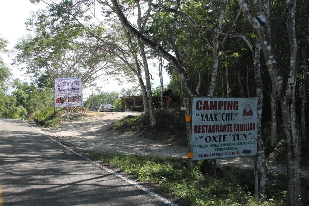 Logo o señal de este camping