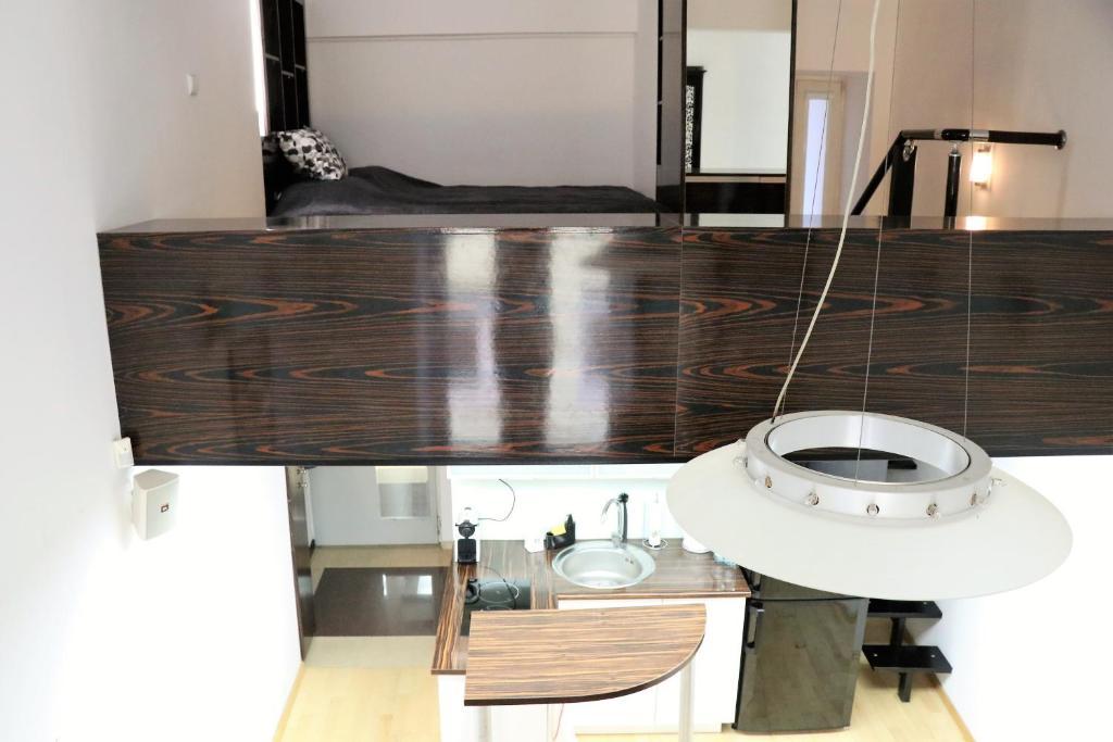 Koupelna v ubytování Lupus Apartment No. 2