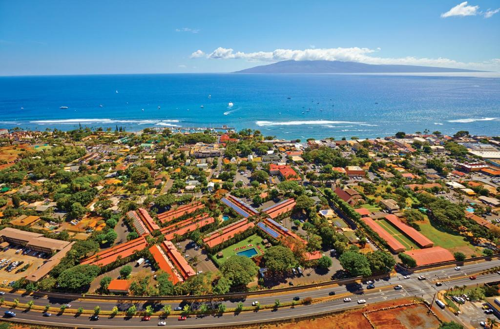 A bird's-eye view of Aina Nalu Lahaina by Outrigger