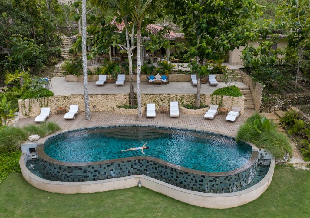 The swimming pool at or near The Mesare Resort