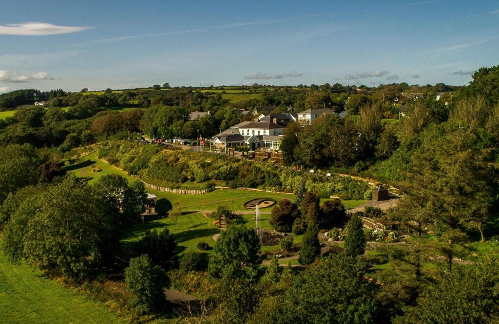 A bird's-eye view of Fernhill House Hotel & Gardens
