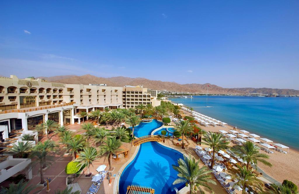 Vista de la piscina de InterContinental Aqaba o alrededores