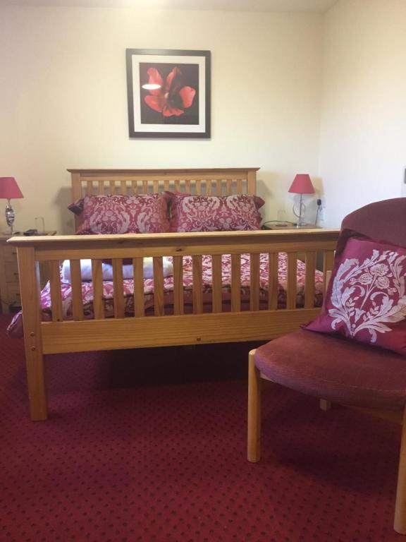 A seating area at Valleyfield Guest House