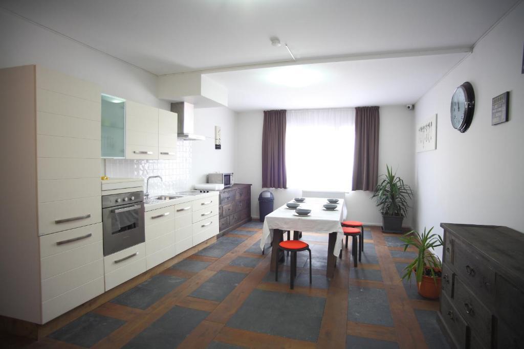 Cucina o angolo cottura di Apartments Résidence Lignum