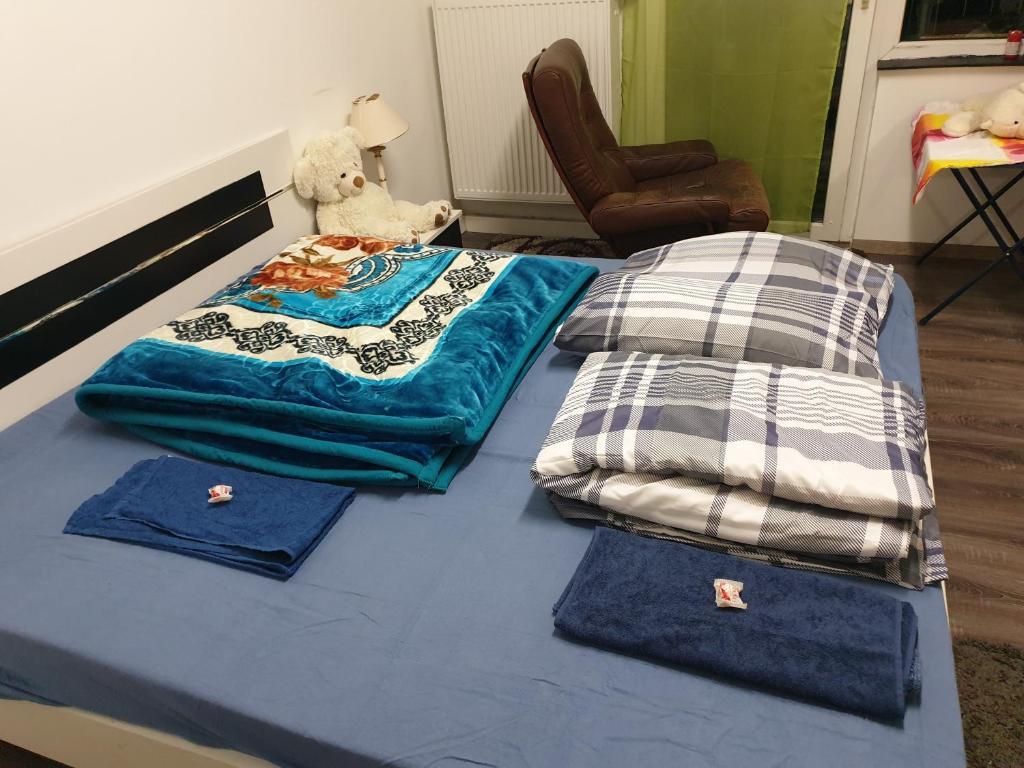 Die Wohnung ist sehr ruhig und sauber, Neu renoviert, Eines einzelne Zimmer