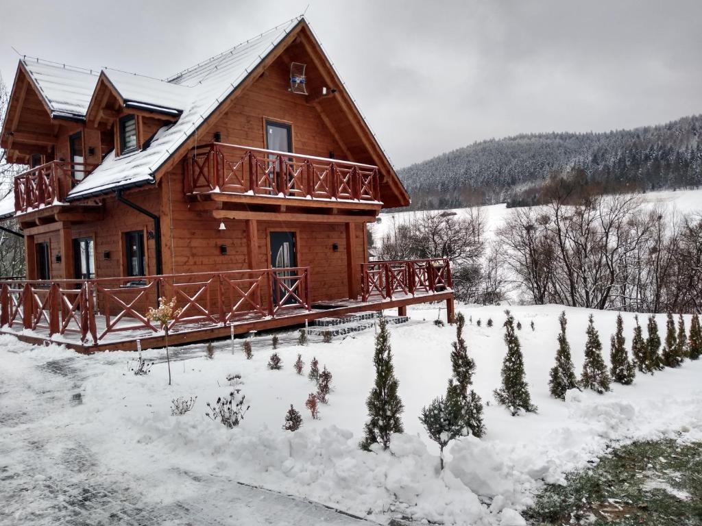 Domek u Weroniki during the winter
