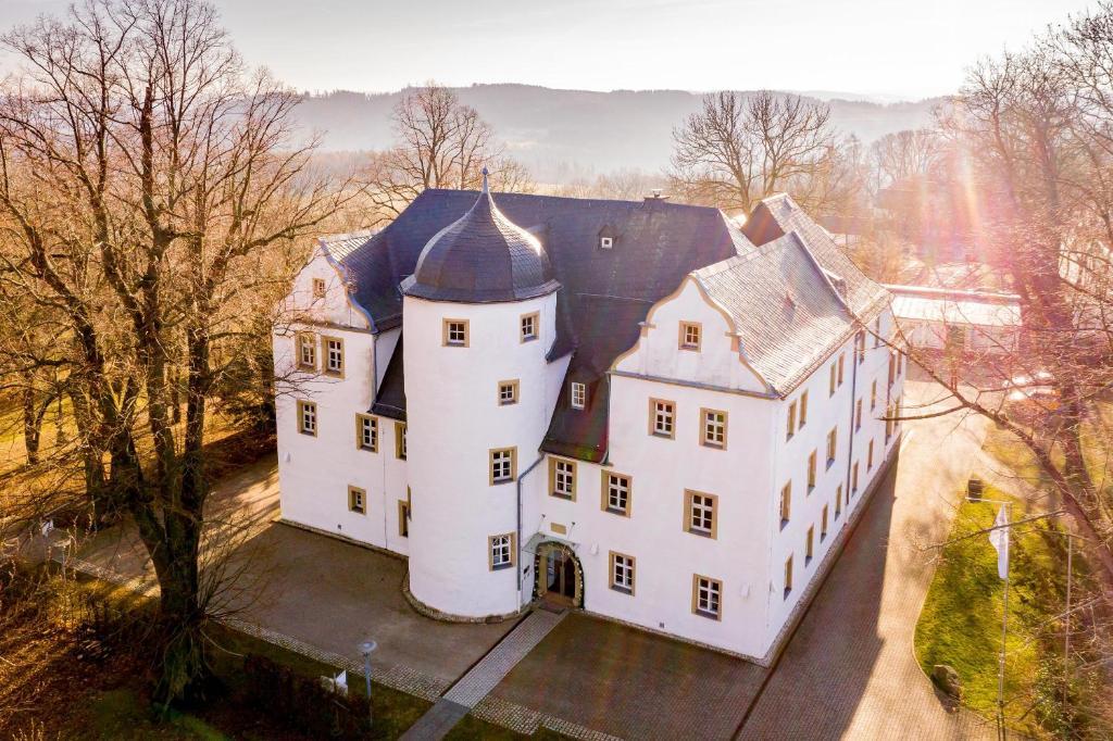 Schlosshotel Eyba im Winter