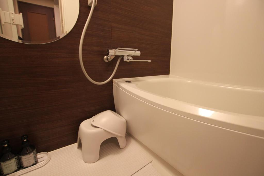 A bathroom at Hotel Sindbad Sendai(Adult Only)