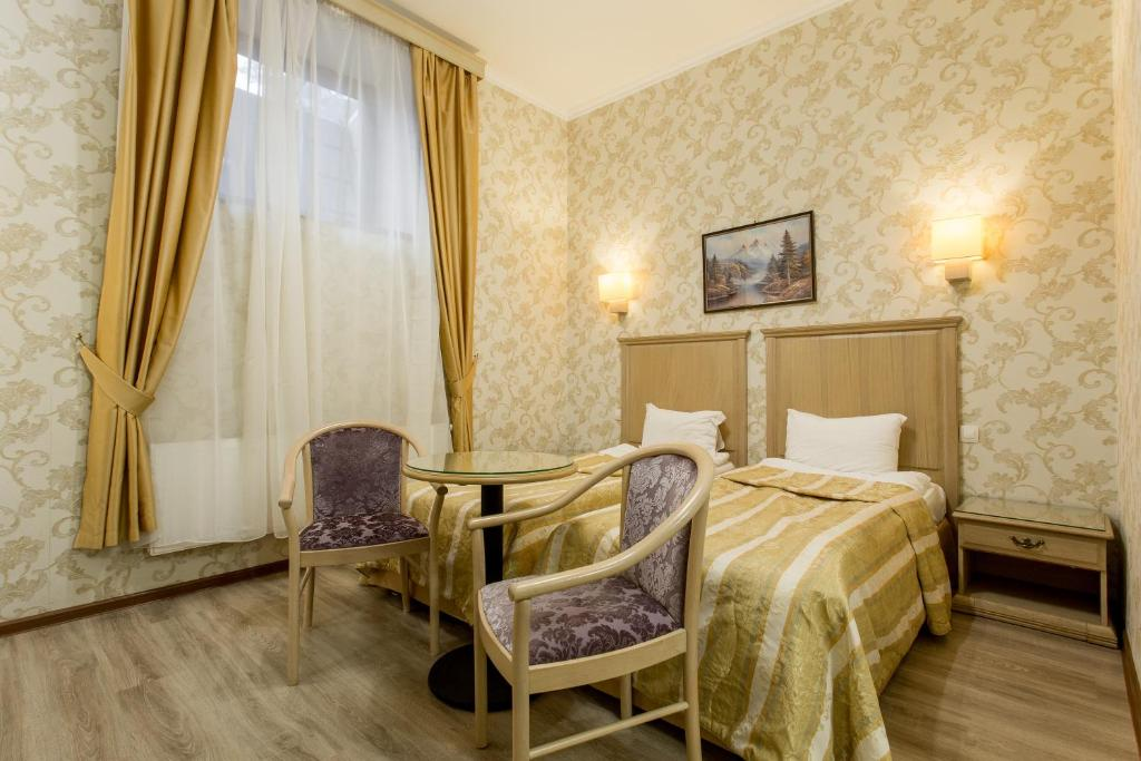 A seating area at Art Hotel Nikolaevsky Posad