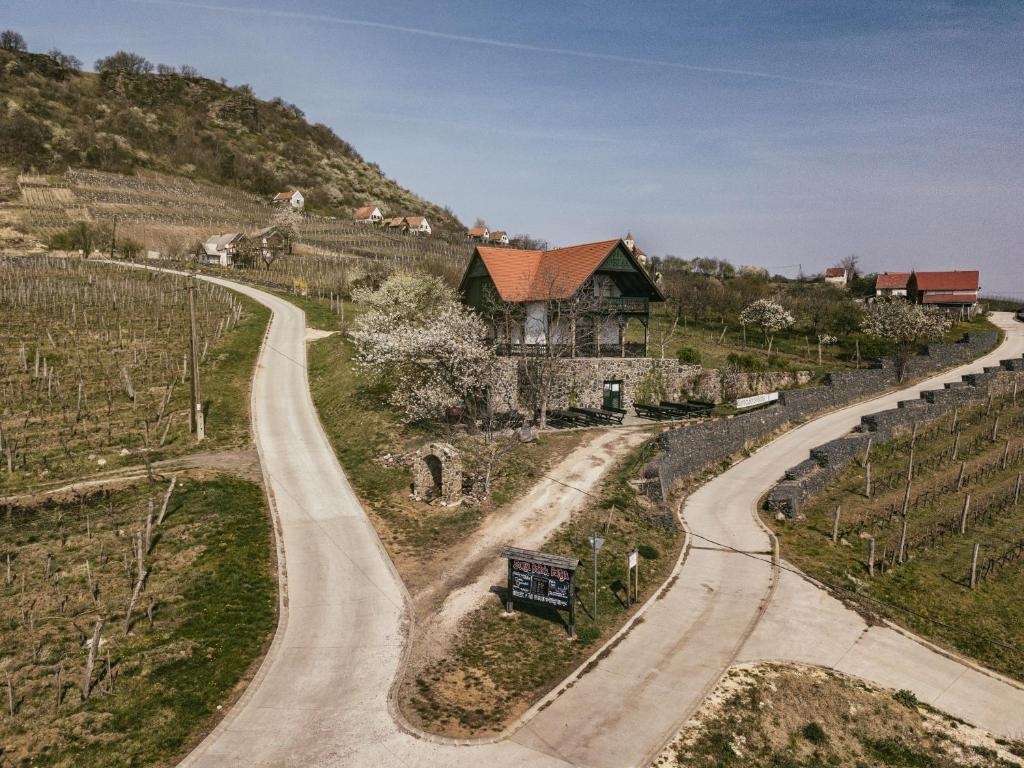 A bird's-eye view of Somlo Wineshop Guesthouse