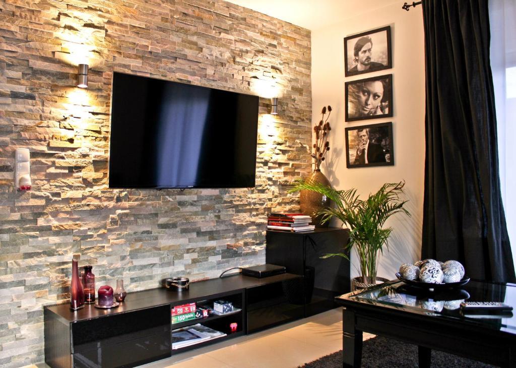 TV/Unterhaltungsangebot in der Unterkunft Luxus City