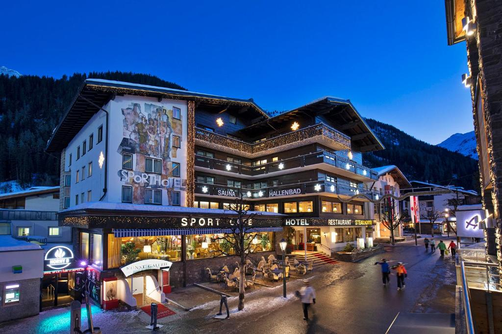 Sporthotel St. Anton during the winter