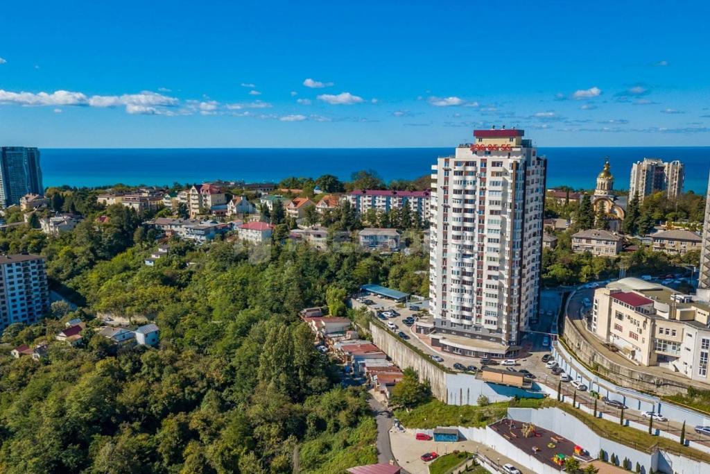 Apartments on Vinogradnaya 22 с высоты птичьего полета