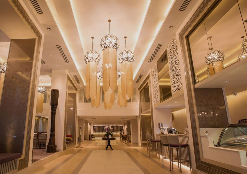 The lobby or reception area at Dusit Princess Chiang Mai