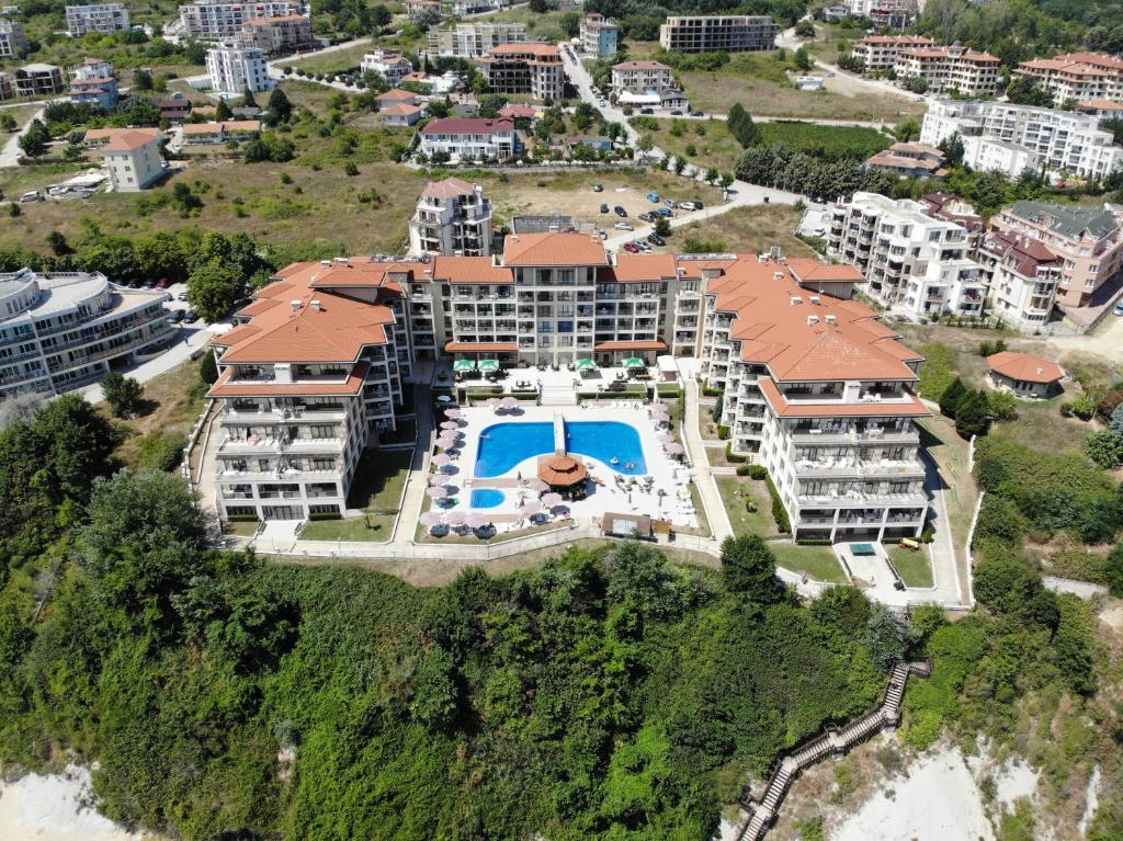 Гледка от птичи поглед на Byala Beach Resort Apartments