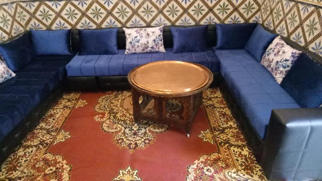 A seating area at dream riad